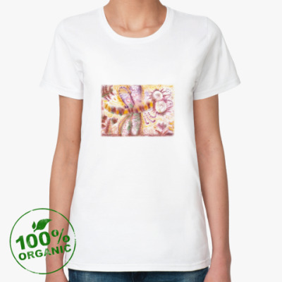 Женская футболка из органик-хлопка Стрекоза из м/ф Винни-Пух