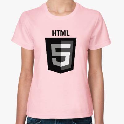 Женская футболка HTML5