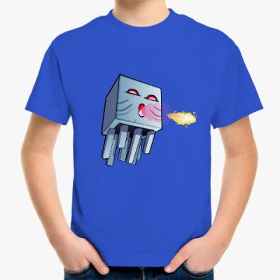 Детская футболка Гаст из майнкрафта