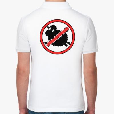 """Рубашка поло Поло """"Не б...о"""" В2"""