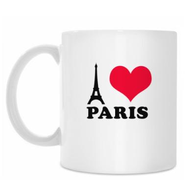 Кружка 'I Love Paris'