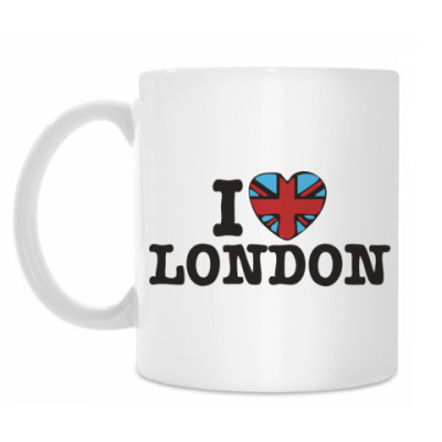 Кружка I love LONDON