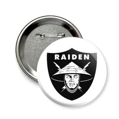 Значок 58мм Raiden Raiders