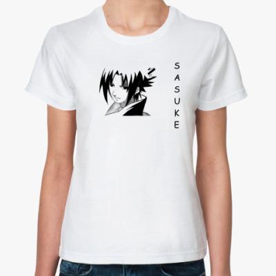 Классическая футболка  Саске