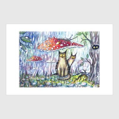Постер Вселенная котов