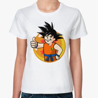 Классическая футболка Гоку