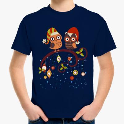 Детская футболка Две совы