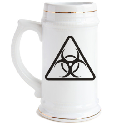 Пивная кружка Biohazard