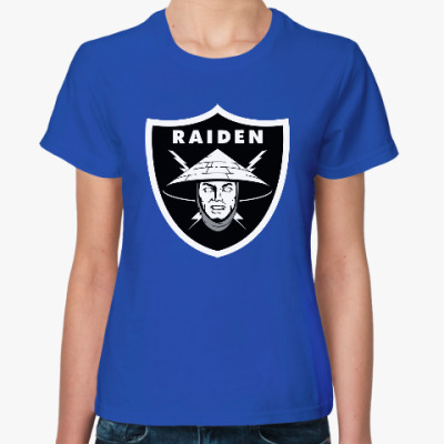 Женская футболка Raiden Raiders