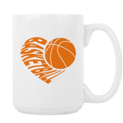 Кружка Баскетбол в сердце