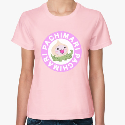 Женская футболка  Pachimari  Overwatch