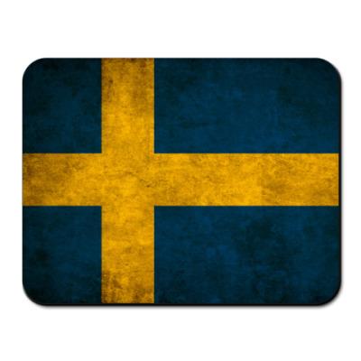 Коврик для мыши Шведский флаг