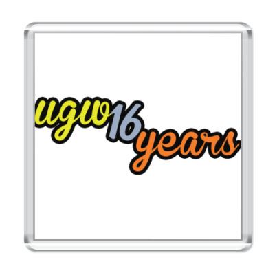 Магнит  16 лет UGW