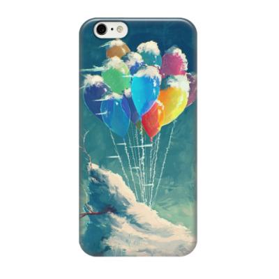 Чехол для iPhone 6/6s Snowbound balloons