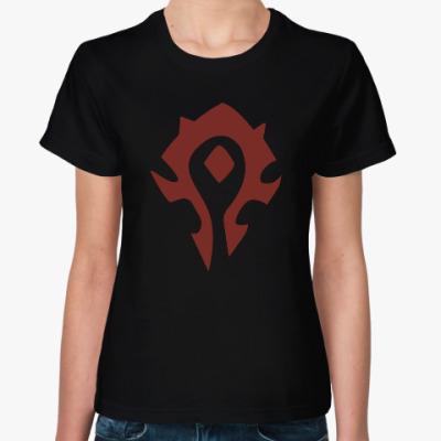 Женская футболка Warcraft