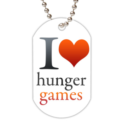 Жетон dog-tag Love hanger Games жетон