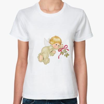 Классическая футболка Ангелок