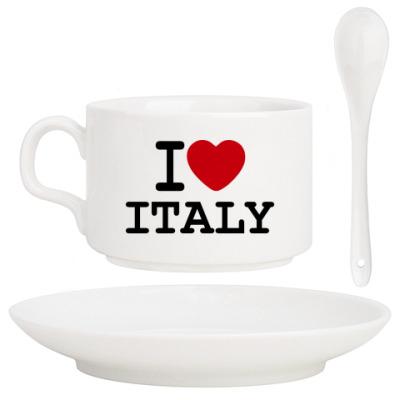 Кофейный набор I Love Italy