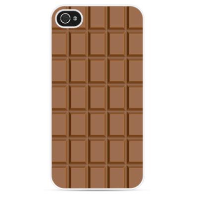 Чехол для iPhone Плитка шоколада