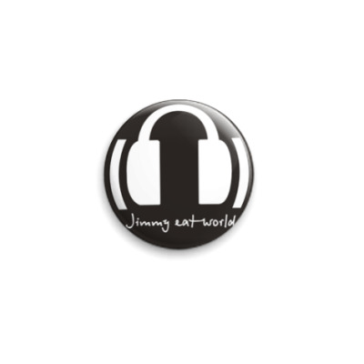 Значок 25мм Jimmy Eat World