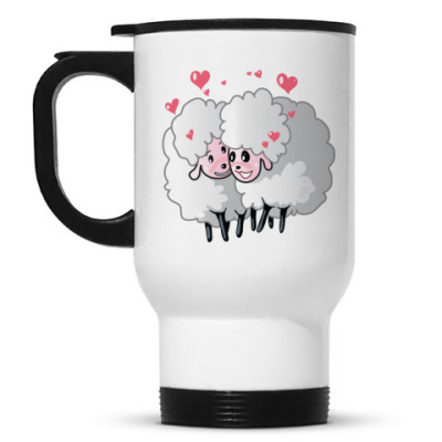 Кружка-термос Две овечки