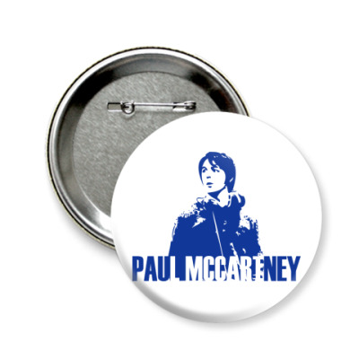 Значок 58мм Paul McCartney