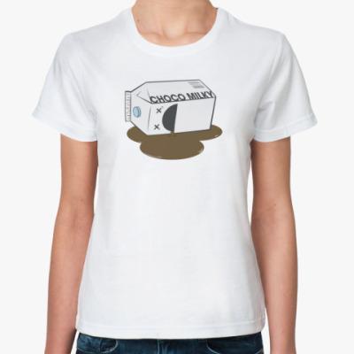 Классическая футболка Молоко
