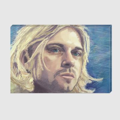Холст  Kurt Cobain