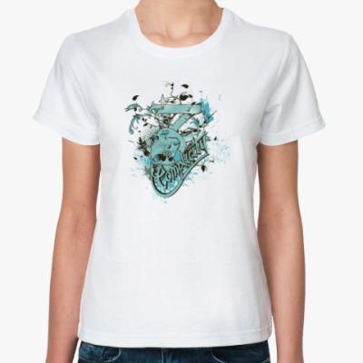 Классическая футболка The skulls