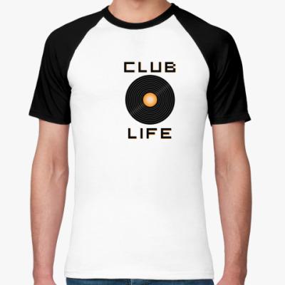 Футболка реглан club life