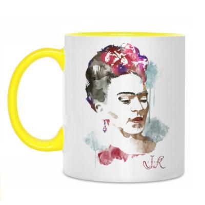 Кружка Фрида Кало - художница
