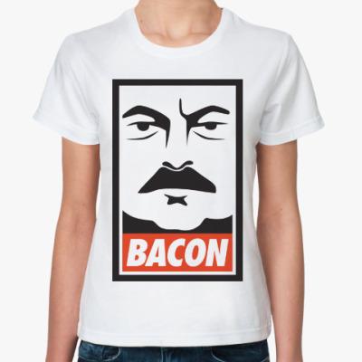 Классическая футболка Bacon (Obey)