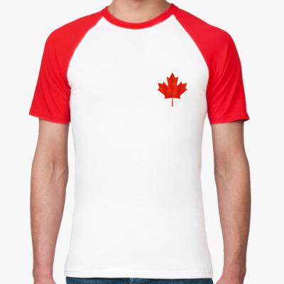 Футболка реглан Канада