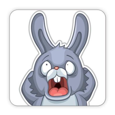 Костер (подставка под кружку) Кролик