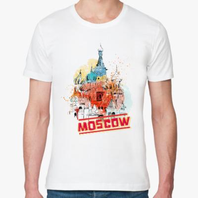 Футболка из органик-хлопка Москва