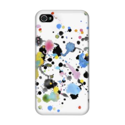 Чехол для iPhone 4/4s Пятнышки  и пятна