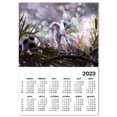 Календарь Пастушка божьих коровок