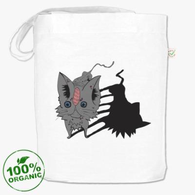 Сумка Кот серый