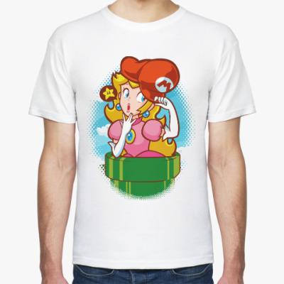 Футболка Принцесса Пич (Марио)