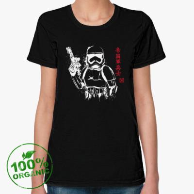 Женская футболка из органик-хлопка Trooper