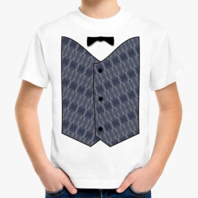 Детская футболка Жилет м.1