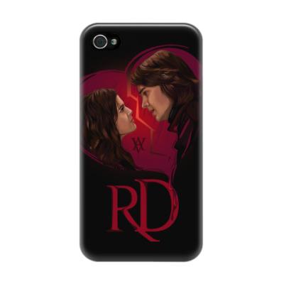 Чехол для iPhone 4/4s Rose Hathaway & Dimitri Belikov. Vampire Academy