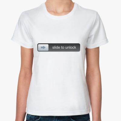 Классическая футболка Unlock