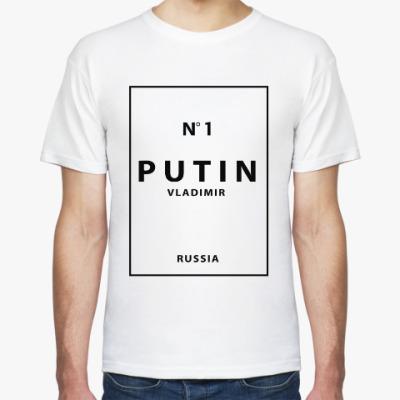 Футболка Vladimir Putin №1 Путин номер 1