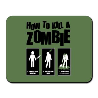 Коврик для мыши инструкция по убийству зомби