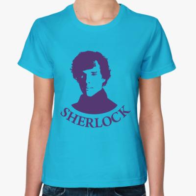 Женская футболка Шерлок Холмс