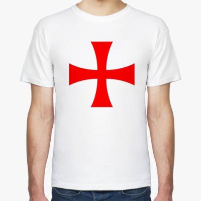 Футболка Тамплиерский Крест свободы