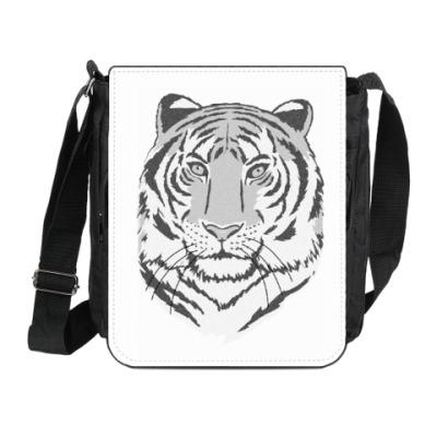 Сумка на плечо (мини-планшет) Под знаком тигра