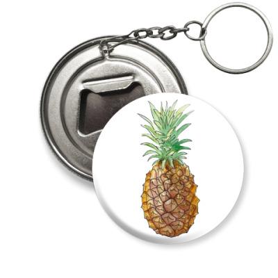 Брелок-открывашка Pineapple
