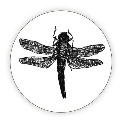 Костер (подставка под кружку) Dragonfly